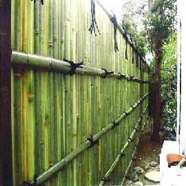 竹垣の施工事例